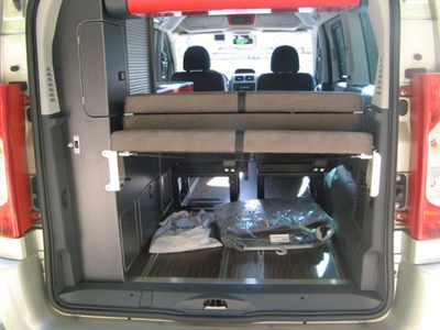Essai camping car fourgon westfalia michelangelo fiat for Interieur westfalia